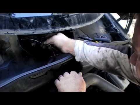 theSAABguy Repairs: 2002 SAAB 9-5 Blower Motor or Fan Speed Controller
