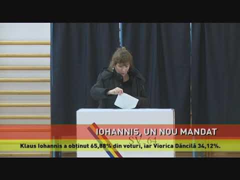 Potrivit rezultatelor parțiale, Klaus Iohannis este pe primul loc