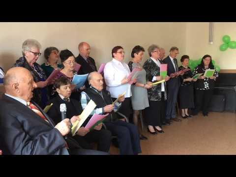 Wideo1: Fragmenty występu seniorów z Domu Dziennego Pobytu we Wschowie