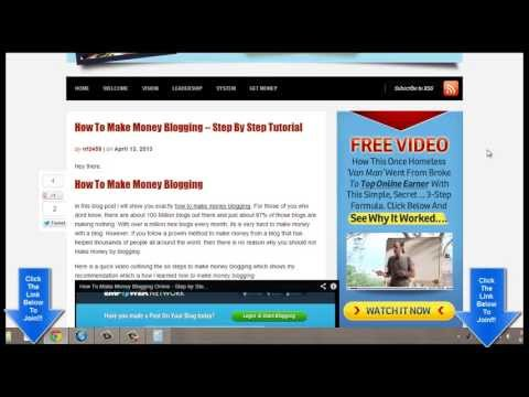 How To Make Money Online Blogging From Home – Must See