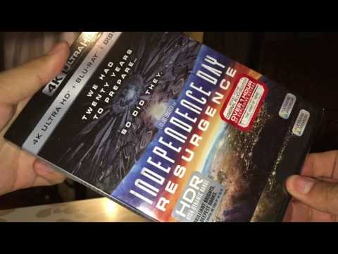 Independence Day Resurgence 4k Unboxing