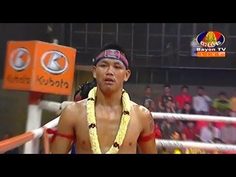 Vong Noy vs Kamlaipetch(thai), Khmer Boxing Bayon 18 May 2018, Kun Khmer vs Muay Thai
