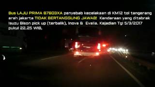 Video BUS LAJU PRIMA TABRAKAN, Sopir bus kabur ! MP3, 3GP, MP4, WEBM, AVI, FLV Mei 2019