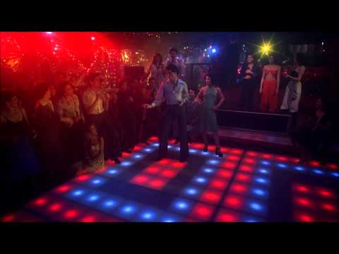 Saturday Night Fever - Saturday Night Fever Released 1977 (Bee Gees You Should be Dancing) John Travolta disco dancing HD 1080 with Lyrics Songwriters: GIBB, MAURICE ERNEST / GIBB,...
