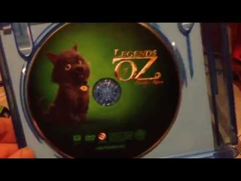Legends Of Oz Blu-Ray + DVD Unboxing