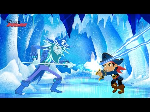 Captain Jake and the Never Land Pirates | Frozen Fortress | Disney Junior UK