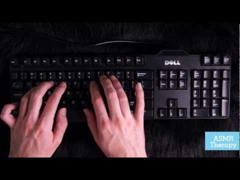 Computer Keyboard - Typing on a noisy desktop keyboard. I hope this will trigger the pleasurable tingly feeling we all enjoy. Please subscribe if you want some more. I ll try my...