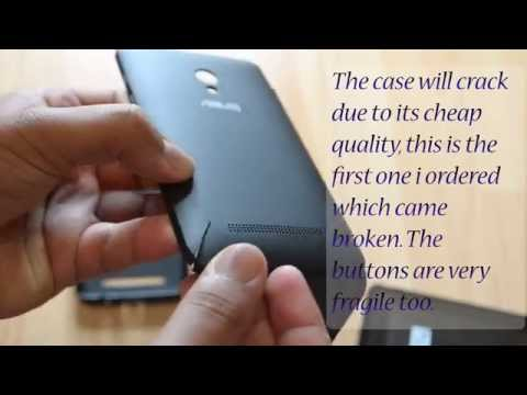 Asus Zenfone 5 View Case and Silicon Case Overview and Review HD