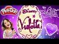 Huevo Sorpresa Gigante de Violetta Disney de Plastilina Play doh en Español Disney Channel