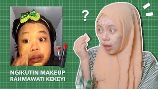 Download Video Coba Ngikutin Makeup Rahmawati Kekeyi! LUCUUU! MP3 3GP MP4