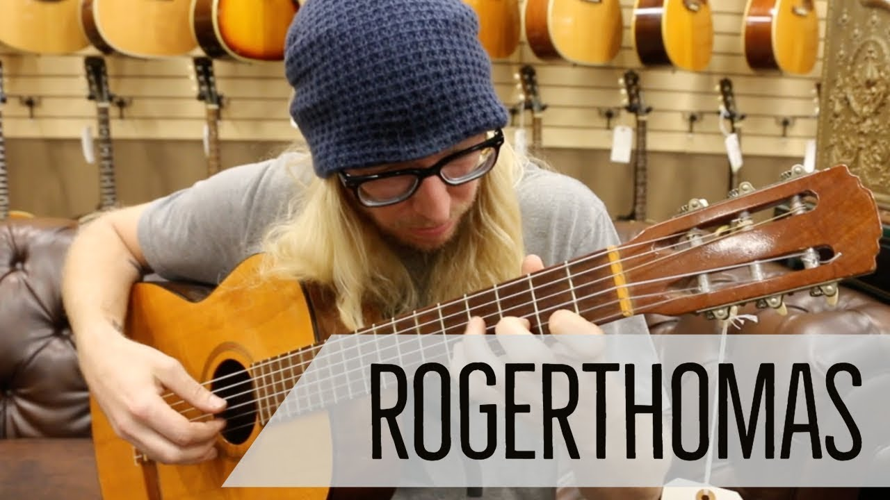 Roger Thomas playing our Goya Classical Guitar | Norman's Rare Guitars