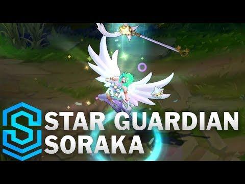 Soraka Vệ Binh Tinh Tú - Star Guardian Soraka