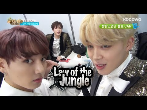 Jin (BTS) Is Nervous About Going To The Jungle~[Law Of The Jungle Ep 247]