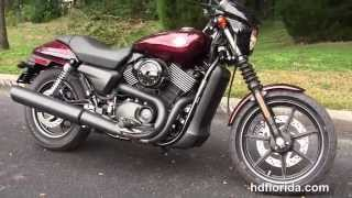 10. New 2015 Harley Davidson Street 750 Motorcycles for sale
