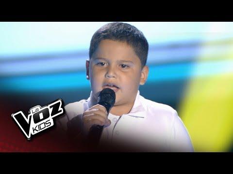 """Niño colombiano revolucionó  """"La voz kids"""" España"""