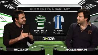 Prognósticos Luis Freitas Lobo - Apostaganha.pt: Antevisão Do Clássico Sporting Vs Porto