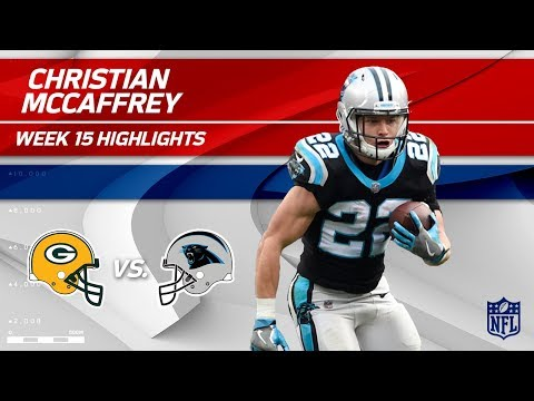 Video: Christian McCaffrey Highlights | Packers vs. Panthers | Wk 15 Player Highlights
