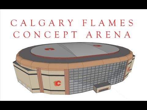 Calgary Flames Concept Arena V4 Final