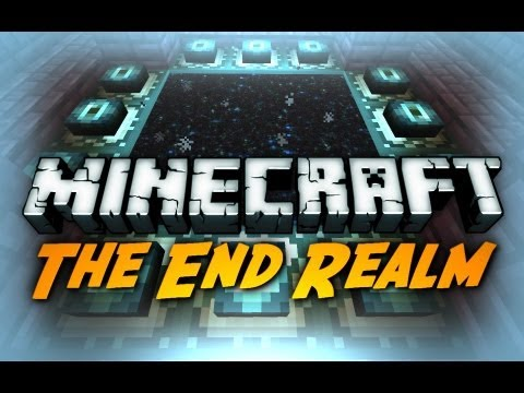 Minecraft: Enderdragon Death! / The End Realm + Portal!