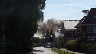 Veldhoven Netherlands  city photos gallery : Fire in Veldhoven, Netherlands.