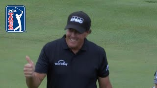 Phil Mickelson nearly aces the par-4 14th at THE CJ CUP 2019 by PGA TOUR