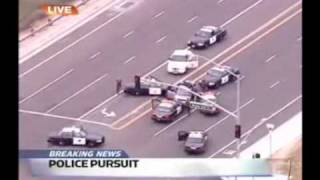 This Police Car Chase Looks Like In GTA