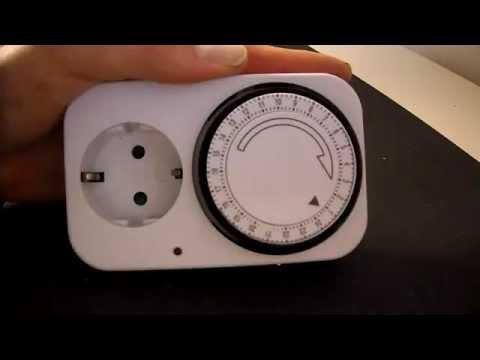 analoge Zeitschaltuhr einstellen - einfach und kurz erklärt
