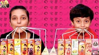 JUICE CHALLENGE | Moral Story | #Kids #Fun | Aayu and Pihu Show