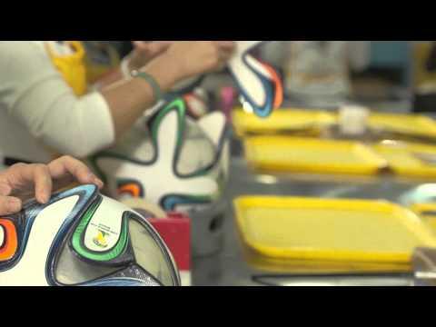 direttamente dalla fabbrica adidas ecco come viene creato un pallone!