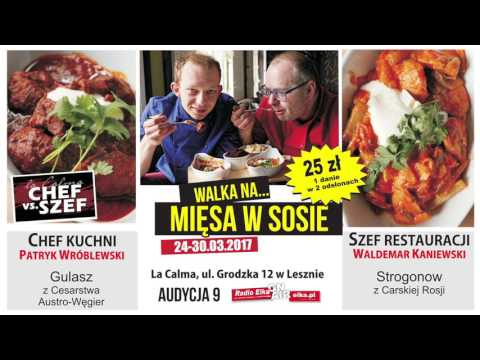Wideo1: Chef vs Szef 9 - Gulasz kontra Strogonow