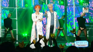 Video BIGBANG(GD&T.O.P) - '쩔어(ZUTTER)' 0823 SBS Inkigayo : 'LET'S NOT FALL IN LOVE' NO.1 OF THE WEEK MP3, 3GP, MP4, WEBM, AVI, FLV Juni 2019
