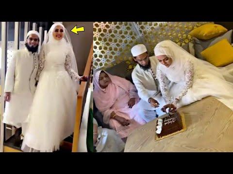 BREAKING NEWS!!! Sana Khan Got Married To Maulana Mufti In Secret Islamic Wedding!!