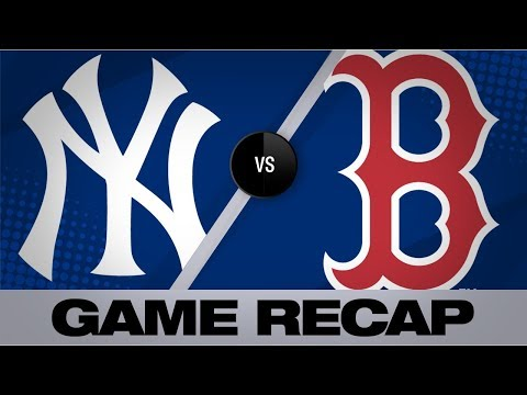 Video: Yankees blank the Red Sox in a 5-0 victory | Yankees-Red Sox Game Highlights 9/9/19