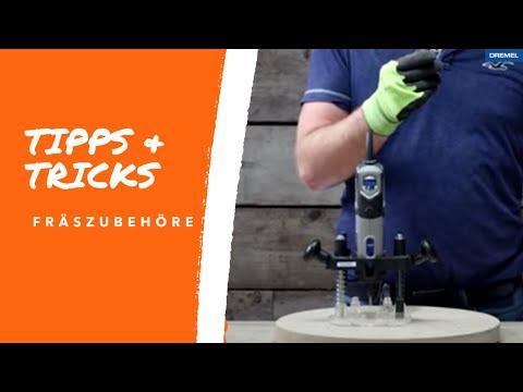 Dremel Tipps & Tricks - Fräszubehör