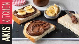 Hazelnut Chocolate Spread | Akis Kitchen by Akis Kitchen
