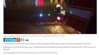 Washington (NC) United States  city photo : Flash Flooding In Washington,NC