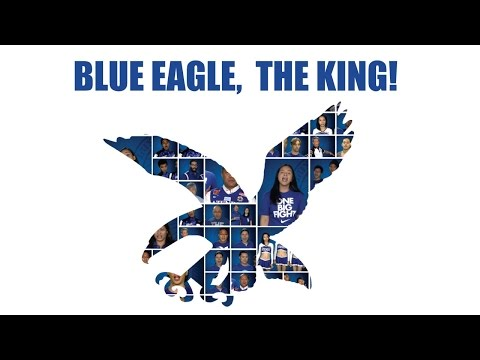 Blue - This is Blue Eagle, The King. Immortal fight song written for the undying Ateneo Fighting Spirit by one of our own. When the future senator Raul Manglapus wrote Blue Eagle, The King in 1939...