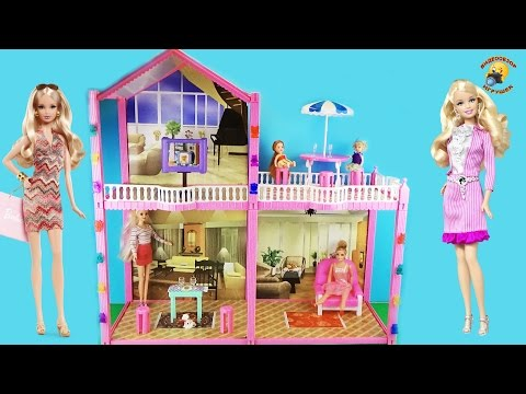 Канал кукла барби дом