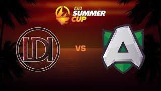 Let's Do It против Alliance, Первая карта, BTS Summer Cup