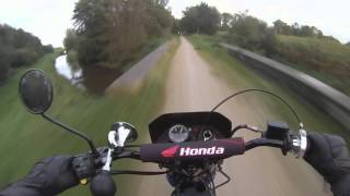 8. Honda MT Evening ride GoPro Hero 3