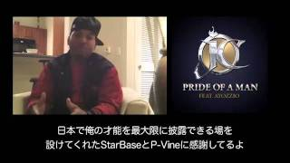 JC - Pride Of A Man feat. Atozzio (Snipped & Interview)