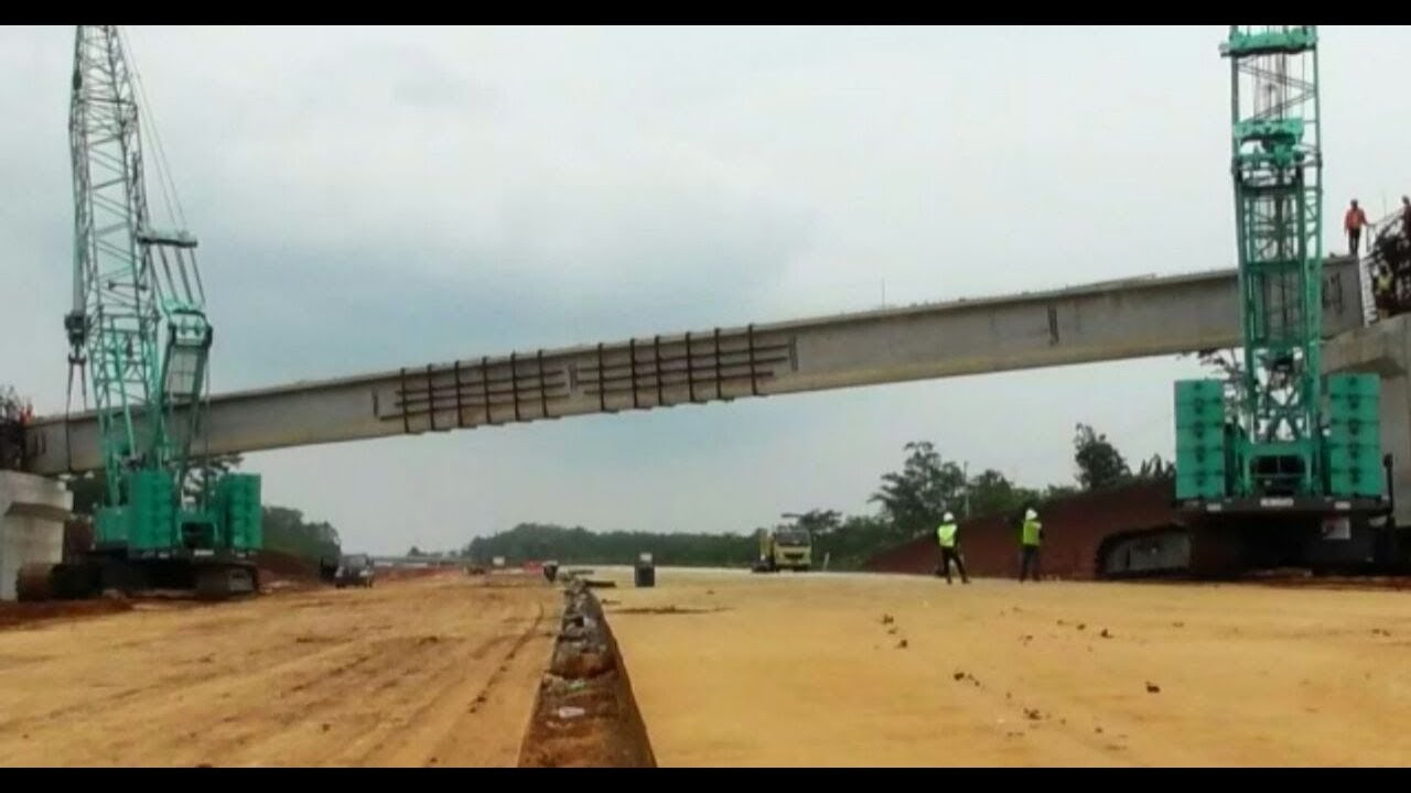 Kegagalan erection girder Proyek Jalan Tol Pemalang Batang, Desa Rowobelang, Jawa Tengah