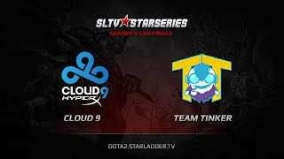 TTinker vs Cloud9, game 1