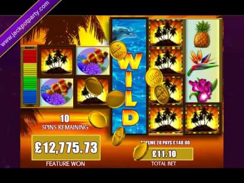 £23,941.96 MEGA BIG WIN (2156 X STAKE) FORTUNES OF THE CARRIBEAN™ BIG WIN SLOTS AT JACKPOT PARTY