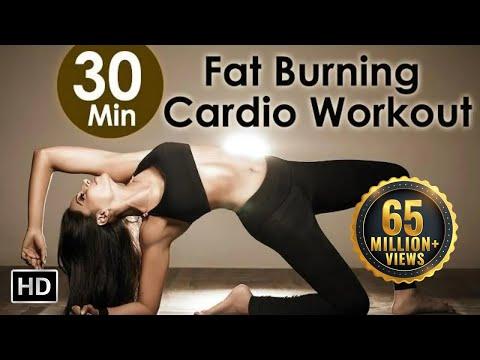 30 Mins Indoor Aerobic Workout – Bipasha Basu Unleash Full Routine – Full Body Workout