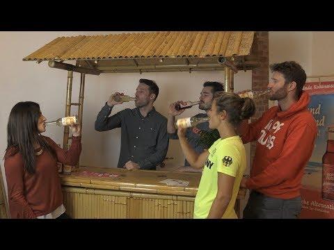 Kokoswasserschorle von Kopfnuss: Erfrischend anders
