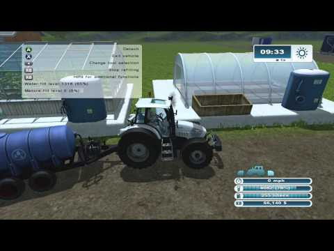 Farming Simulator 2013 Xbox 360 Lets Play ep.25 Greenhouses