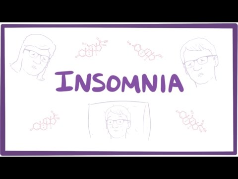 Insomnia - causes, symptoms, diagnosis, treatment & pathology