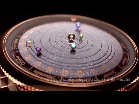 Van Cleef & Arpels   Complication Poétique Midnight Planétarium Watch