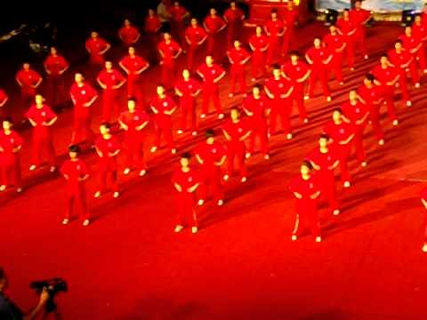 Enchaînement pour les enfants de Maître Zhang GuangDe